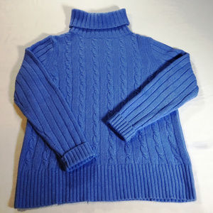 J Crew Long Sleeved, Turtleneck Sweater Size L